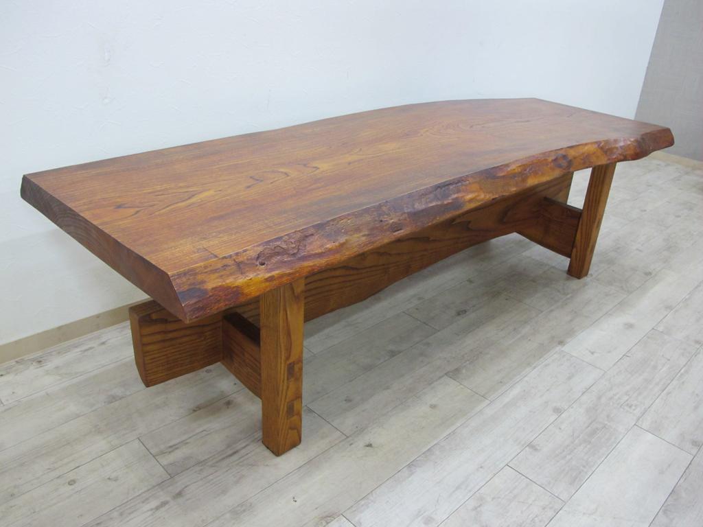 一枚板テーブル買取